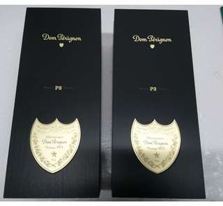 2個 Dom perignon 1971 木盒