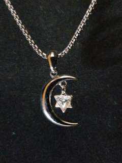 月亮之星頸鏈The Moon Star necklace