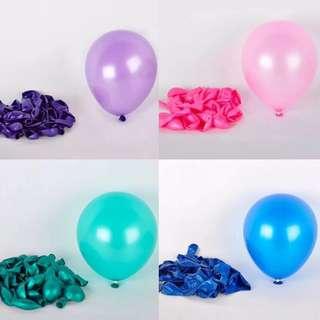 Round latex balloon