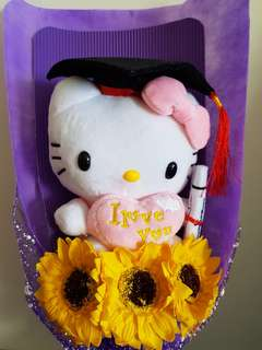 Hello Kitty Graduation Bouquet