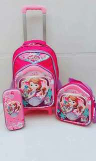 🌼3in1 Trolley Bagpack