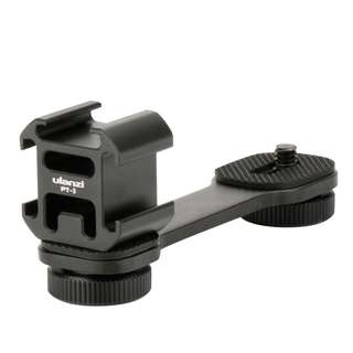 Ulanzi PT-3 Triple Cold Shoe Mount
