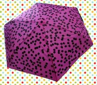 Monki 限量開幕別注 紫紅色 Umbrella 摺傘 縮骨遮 一把
