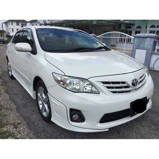 TOYOTA COROLLA ALTIS 1.8E (AT)