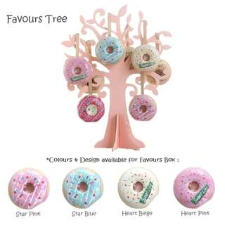 (INSTOCK) Favours Tree & Boxes for Wedding/Birthday Events