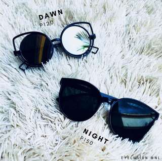 SUNNIES - BLACK - 2 FOR 250 / 150 EACH