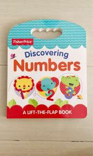 Buku BBW fisher price - discovering numbers