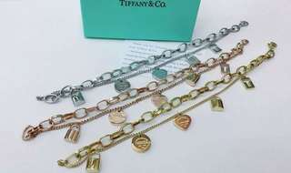 Luxury Jewelries : TIFFANY & CO. BRACLET