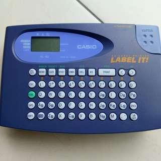 Casio label it printer