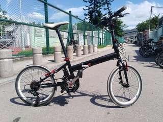 "20"" Folding Bike 6 sp"