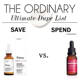 🚚 $16.90 The Ordinary 100% Organic Cold-Pressed Rose Hip Seed Oil vs. Trilogy Organic Rosehip Oil
