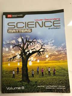Science Textbook Marshall Cavendish Volume B Lower Secondary