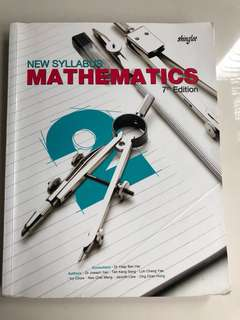 Shinglee Textbook Mathematics Book 2 7th Edition