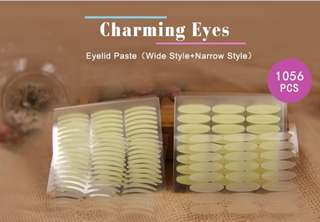 1056pcs Eyelid Tape Sticker Invisible Eyelid Paste Transparent Self-adhesive