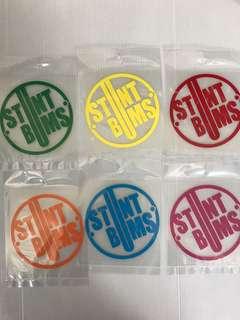 Moto stickers size 9x9cm
