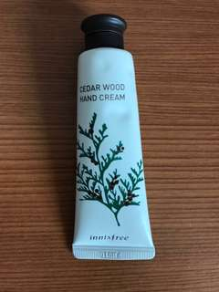 Innisfree Hand Cream (Cedar Wood)