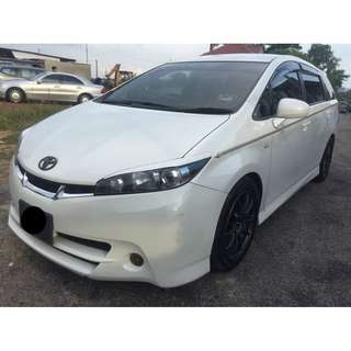 TOYOTA WISH 1.8S VALVEMATIC (AT)