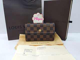 Authentic Louis Vuitton Monogram Damier Alexander Wallet N63067 {{ Only For Sale }} ** No Trade ** {{ Fixed Price Non-Neg }} ** 定价 **