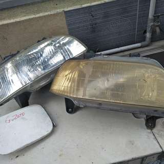 Lampu depan detomaso charade & fuel lids