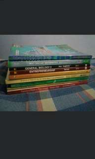 Shs books grade 11 & 12 senior high school STEM general biology, pre-calculus, general chemistry