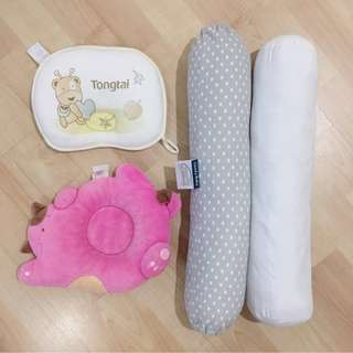 Comfy Baby Bolster (S) & Pillows (other brand)