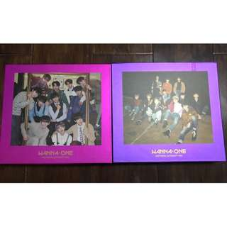 ONHAND SEALED ALBUM WANNA ONE JAPANESE VERSION