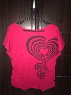 Fuschia Pink Top