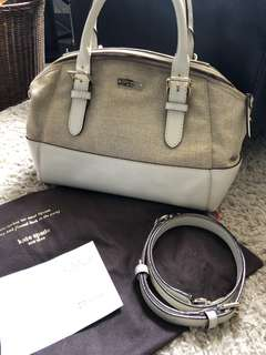 Kate Spade cameron street straw lottie bag