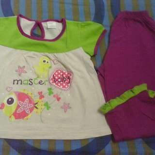 all inc pos combo 8 pcs clothes girl 1-2 years