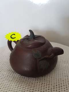 Yixing Zisha Teapot (individually hand crafted by master)