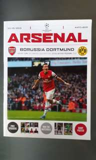 Arsenal Official Matchday Programme