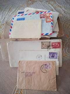 Postal covers 1951-1960 Mostly Malaya