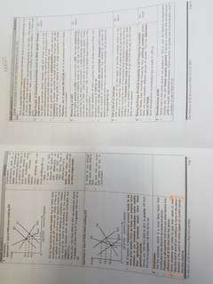 H2 economics various notes and sample papers