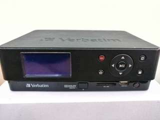 Verbatim Video Player/Recorder + 2TB HDD Bundle