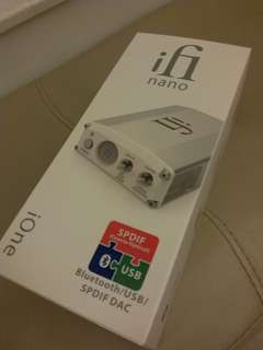 iFi nano iOne digital-to-analog converter解碼器