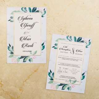 Glossy Invitation Cards