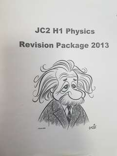 JC2 H1 physics revision package