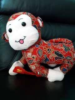 Batik monkey