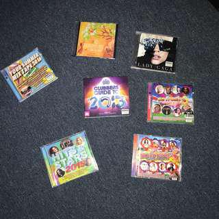 ASSORTED CDS & DVD $60 FOR ALL