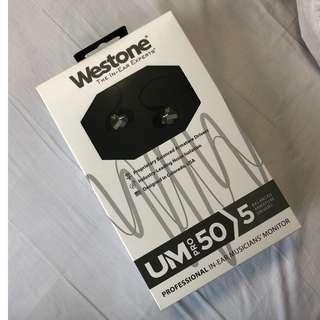 Sealed/BNIB Westone UM Pro 50 V2