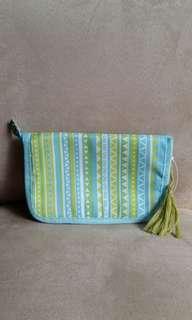 Nylon A5 zipper pouch