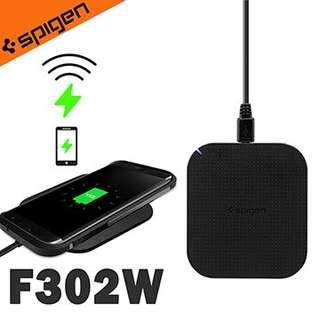 三禾電氣 韓國 Spigen Essential 快充型無線充電座 充電器 充電板( F302W )