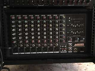 8 Channel Power Mixer & 800 Watts Power Amp Console Unit