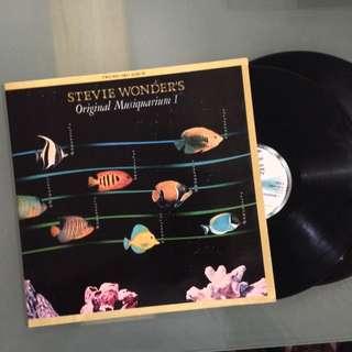 Lp Stevie Wonder (Musiquarium) - piring hitam/vinyl