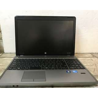 Hp probook 4530s nebtbook type 12 inches with camera