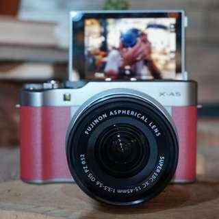 Fujifilm XA5 15-45mm Kedit Free 1x Angsuran