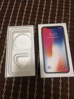 iPhone X 256GB Box
