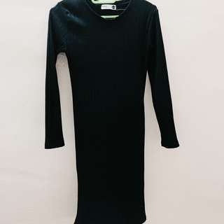 Long fit dress