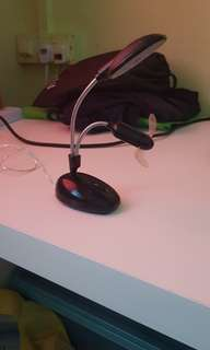 Mini Table Light with Mini Light attached and comes with charger