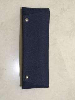 Genuine leather cash or check wallet not fino coach gucci lv mk